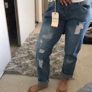 BRAND NEW Cotton On boyfriend jeans